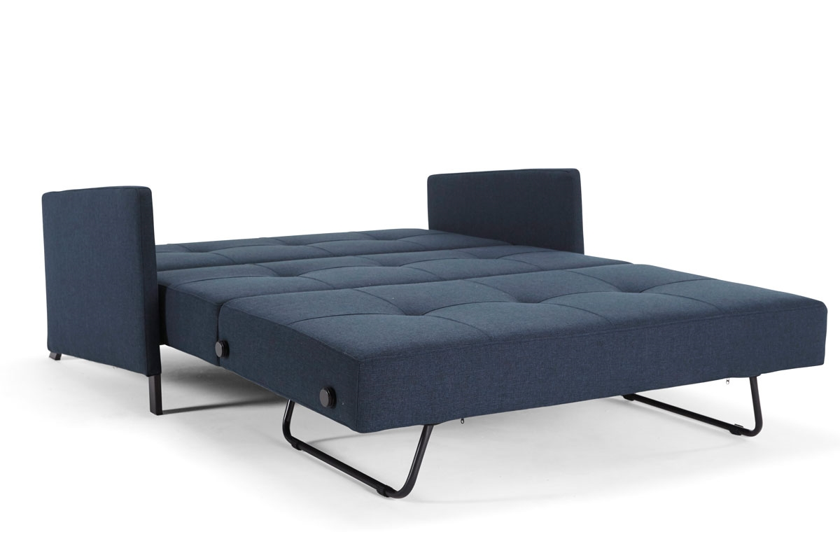 Cubed 140 with arms sofa bed from innovation denmark for Sofa 140 x 80