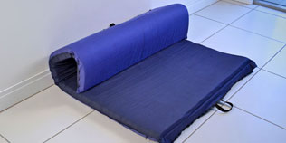 Zipit Roll-Up Mattress