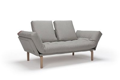 ROLLO Day Bed <br>with Matching Square Cushions