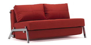 Cubed 160 Chrome Sofa Bed