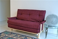 COMPACT <br>Futon Sofa Bed