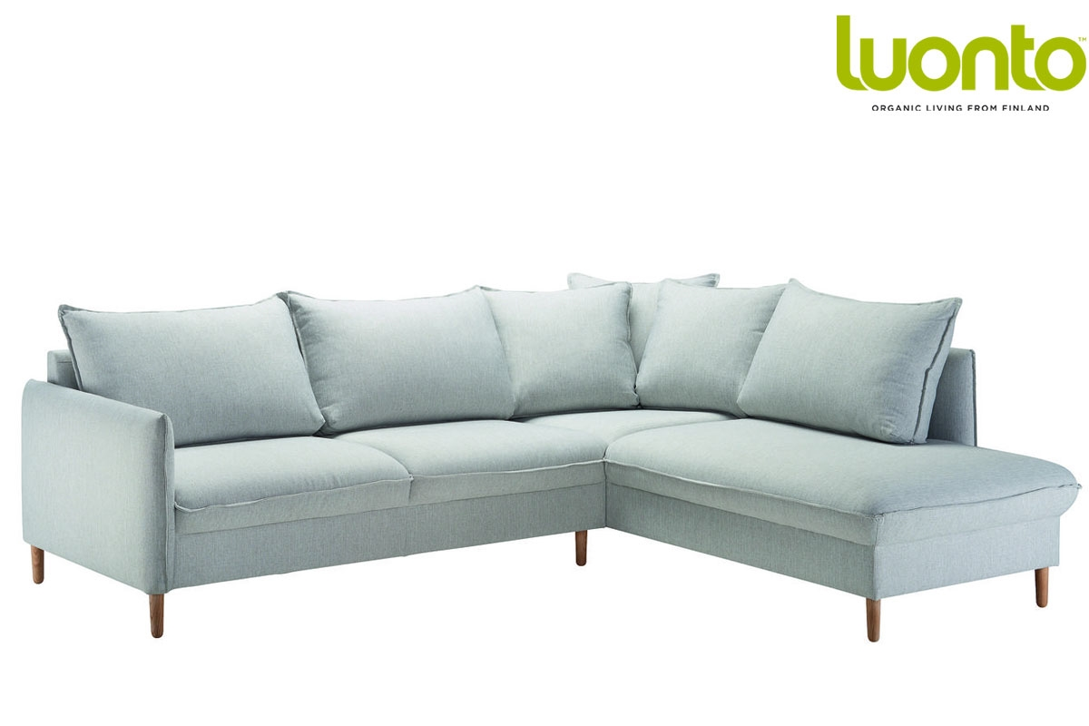 chic 3 seater corner sofa bed from luonto. Black Bedroom Furniture Sets. Home Design Ideas