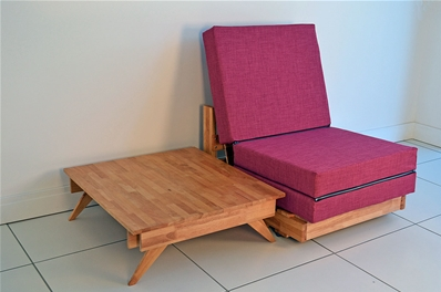 Kewb Table Sofa Chair Bed