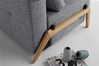 CUBED 140 Innovation Sofa Bed - Wood Leg