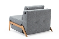 CUBED 90 Chair Bed Wood