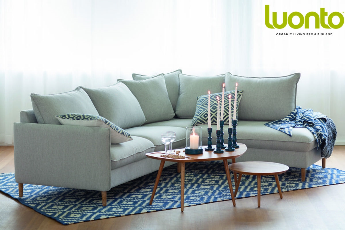 Chic 2 Seater Corner Sofa Bed From Luonto