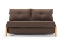 CUBED 02 - 160 Sofa Bed - Wood Legs