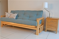 SUNDOWNER Futon <br>3-Seater Sofa Bed