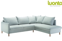Chic 3 Seater Corner Sofa Bed