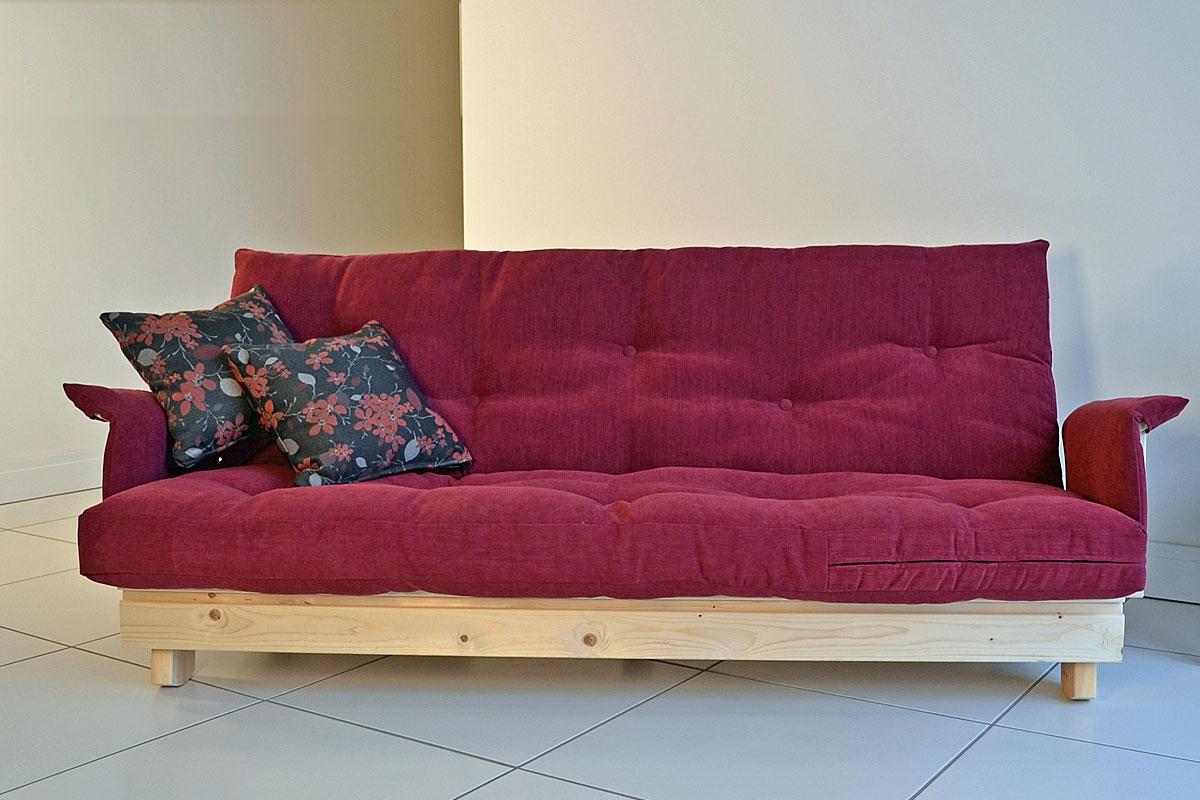 the roman 3 seater futon sofa bed. Black Bedroom Furniture Sets. Home Design Ideas