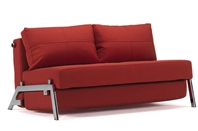 CUBED 02 - 160 Sofa Bed - Chrome Legs