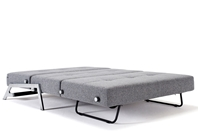CUBED 140 Danish Sofa Bed - Chrome