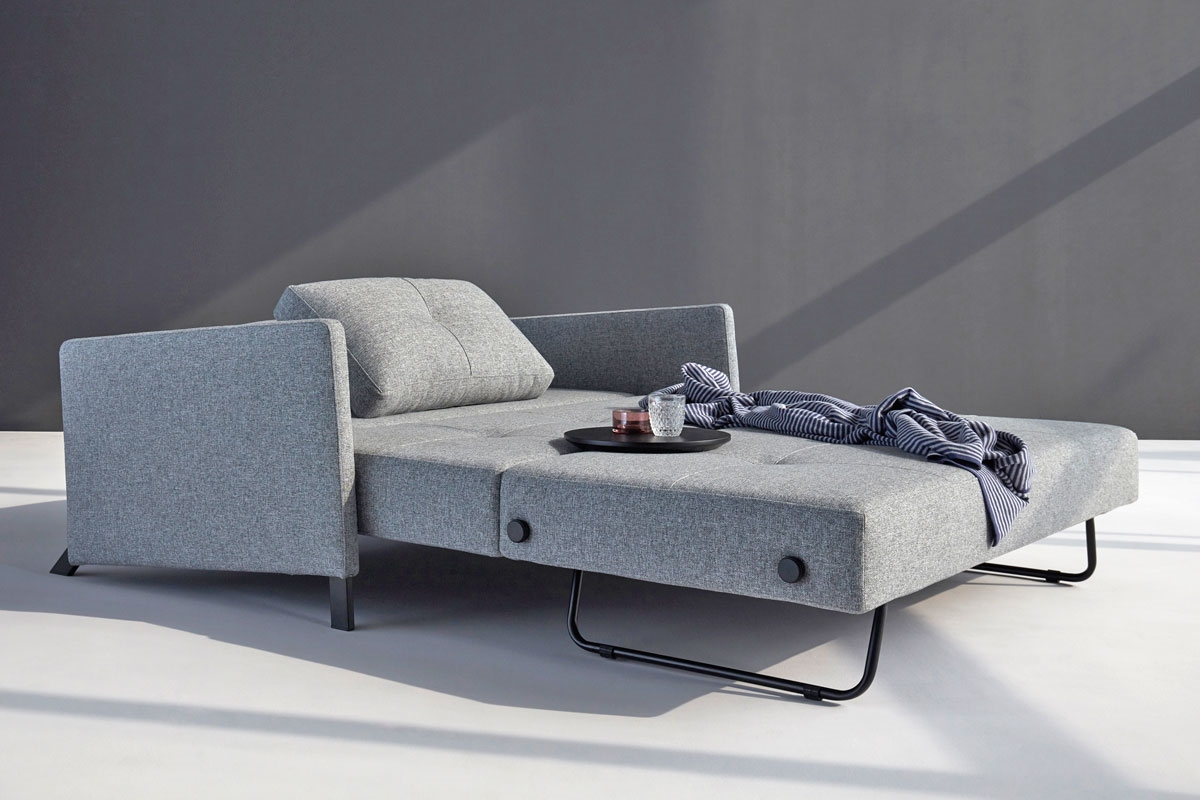 Cubed 160 sofa bed with arms from innovation for Sofa bed 200cm wide