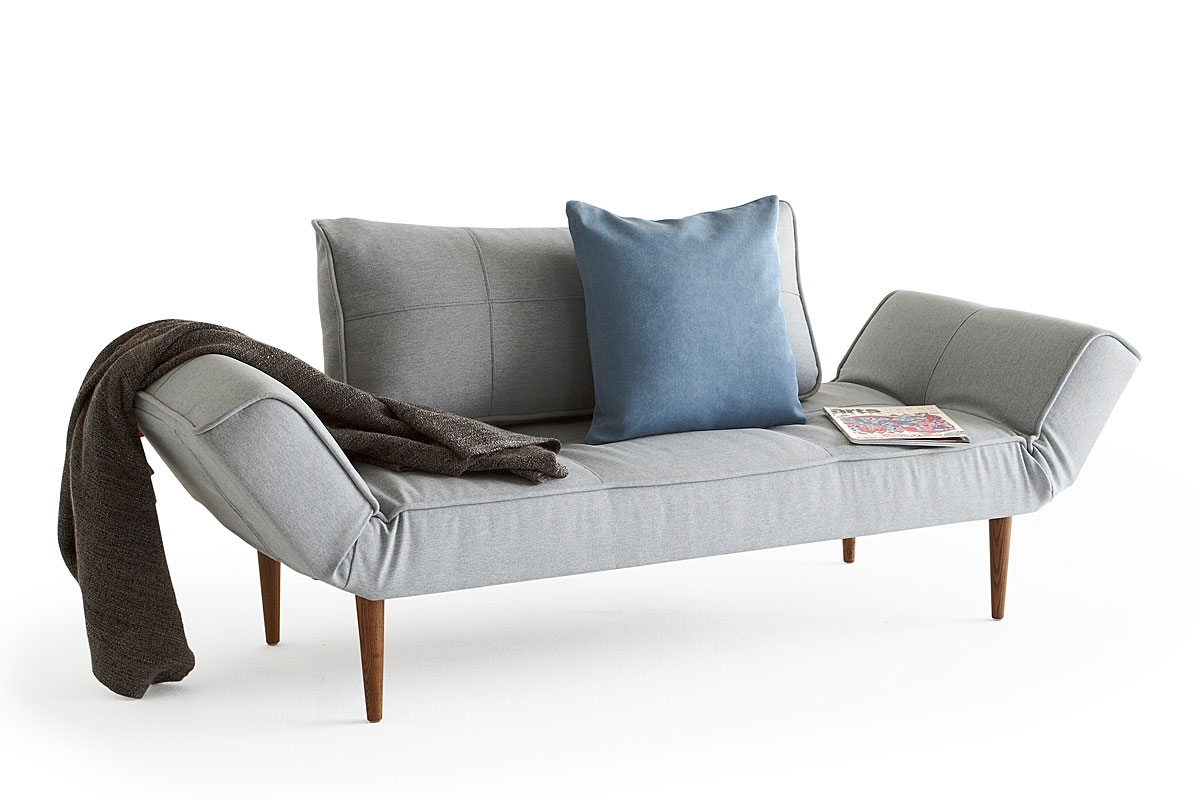 The zeal sofa bed from innovation denmark for Zeal sofa bed