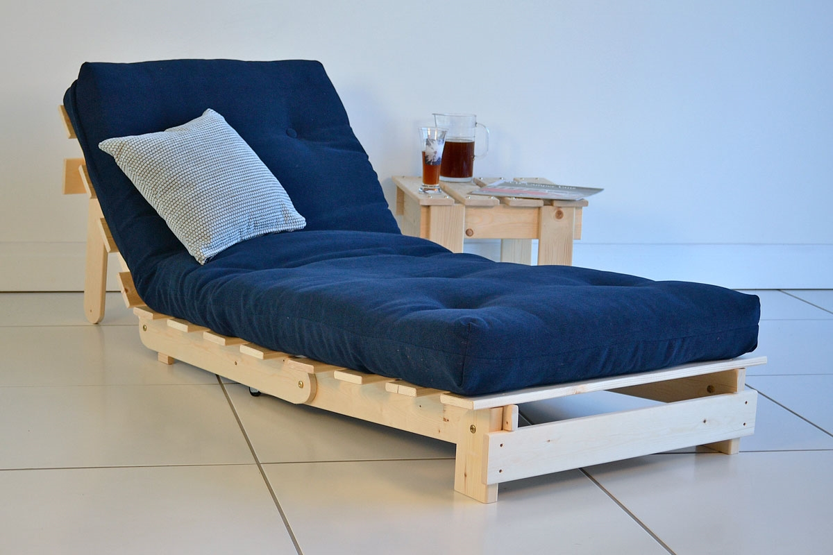 Classic Single Futon: Simple to convert futon with ...