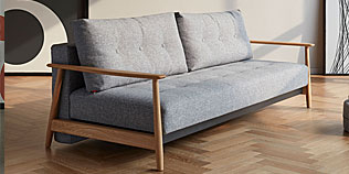 UNA Deluxe Button Sofa Bed