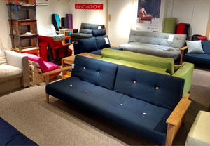 Sofa Bed Showroom at Sit and Sleep